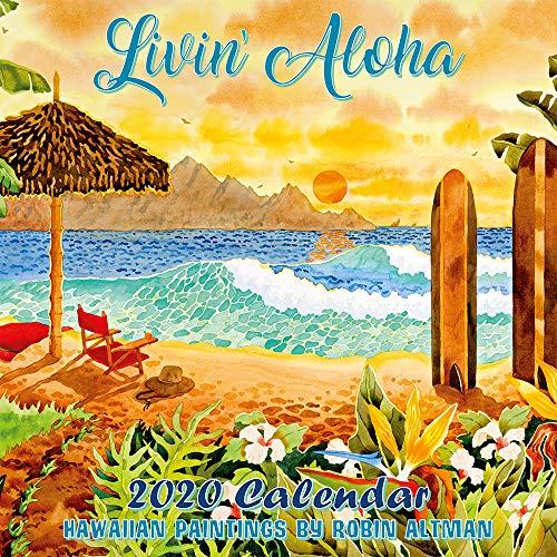Pacifica Island Art - 2020 Wall Calendar - Livin' Aloha Hawaii by Robin Wethe Altman