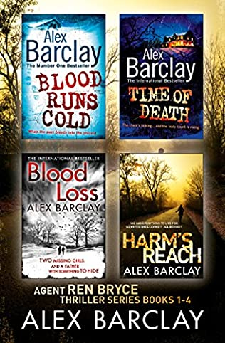book cover of Alex Barclay 4-Book Thriller Collection