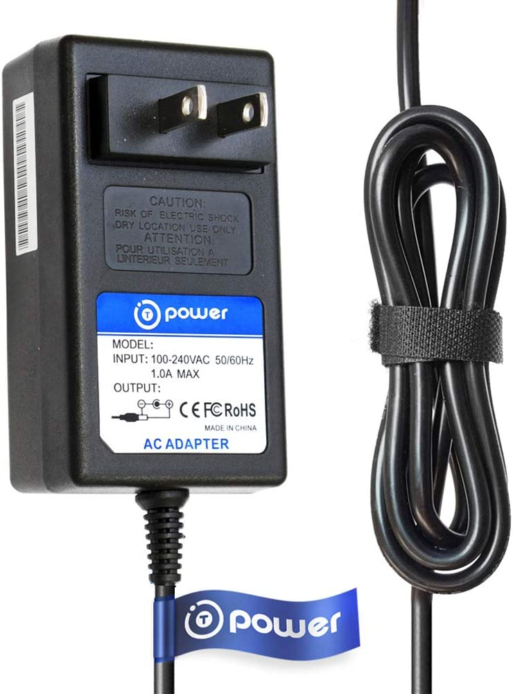 T POWER 6.6 Feet Ac Dc Adapter Charger Compatible with 12v Chamberlain Liftmaster 002C0507-2 Garage Door Receiver Adapter 28-D12-100, 915LM, 916LM Power Supply Cord
