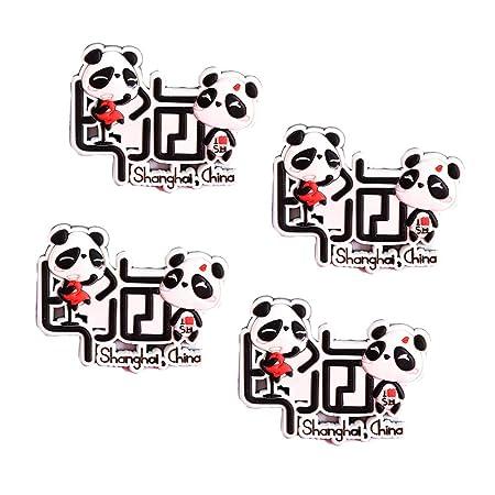 Black Temptation Encantador Panda Imanes de Nevera Imanes de ...