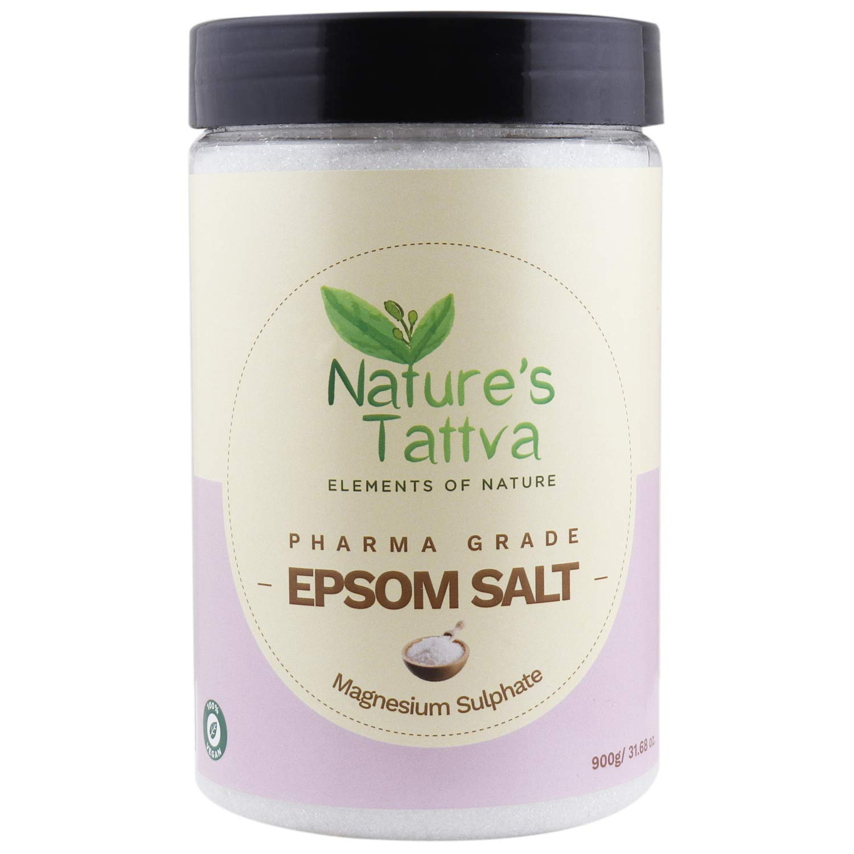 Buy Nature's Tattva Magnesium Epsom Salt, 900g Online at Low Prices in  India - Amazon.in