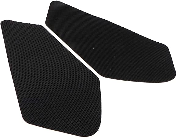 Elerose pad serbatoio antiscivolo,Lato adesivo antiscivolo moto Serbatoio gas Pad ginocchio Fuel ginocchio grip Protector Fishbone Decal Sticker
