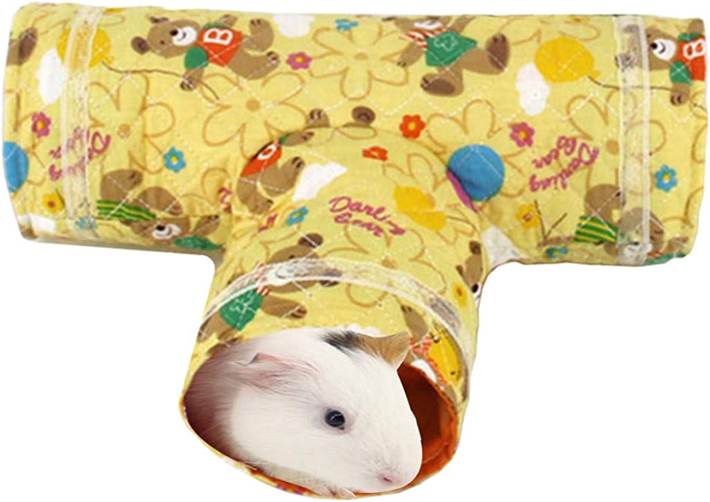 Pet Hamster Interactive Toy Collapsible Training Fun Play Toy sunnymi Small Animal Play Tunnel Toy for Hamster Guinea Pig Chinchillas