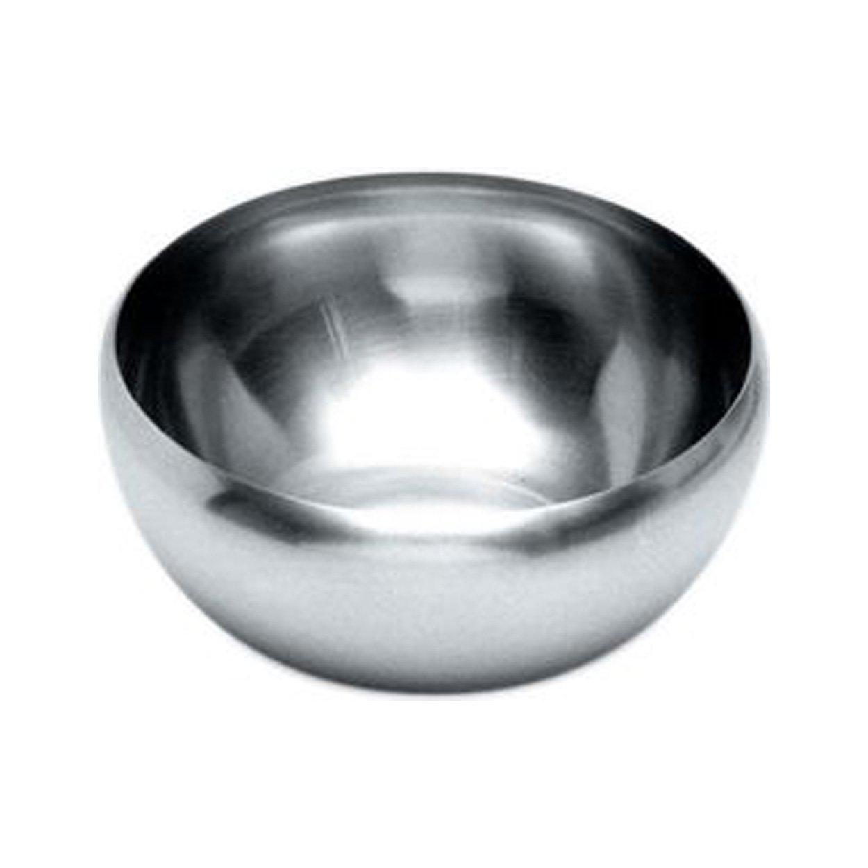 Alessi 206/12 Dessert / Salad Bowl, Stainless Steel, Set of 6