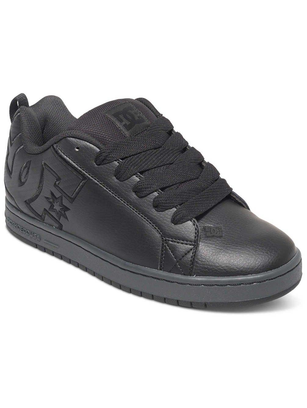 DC Shoes Court Graffik SE, Zapatillas para Hombre 42.5 EU|Black