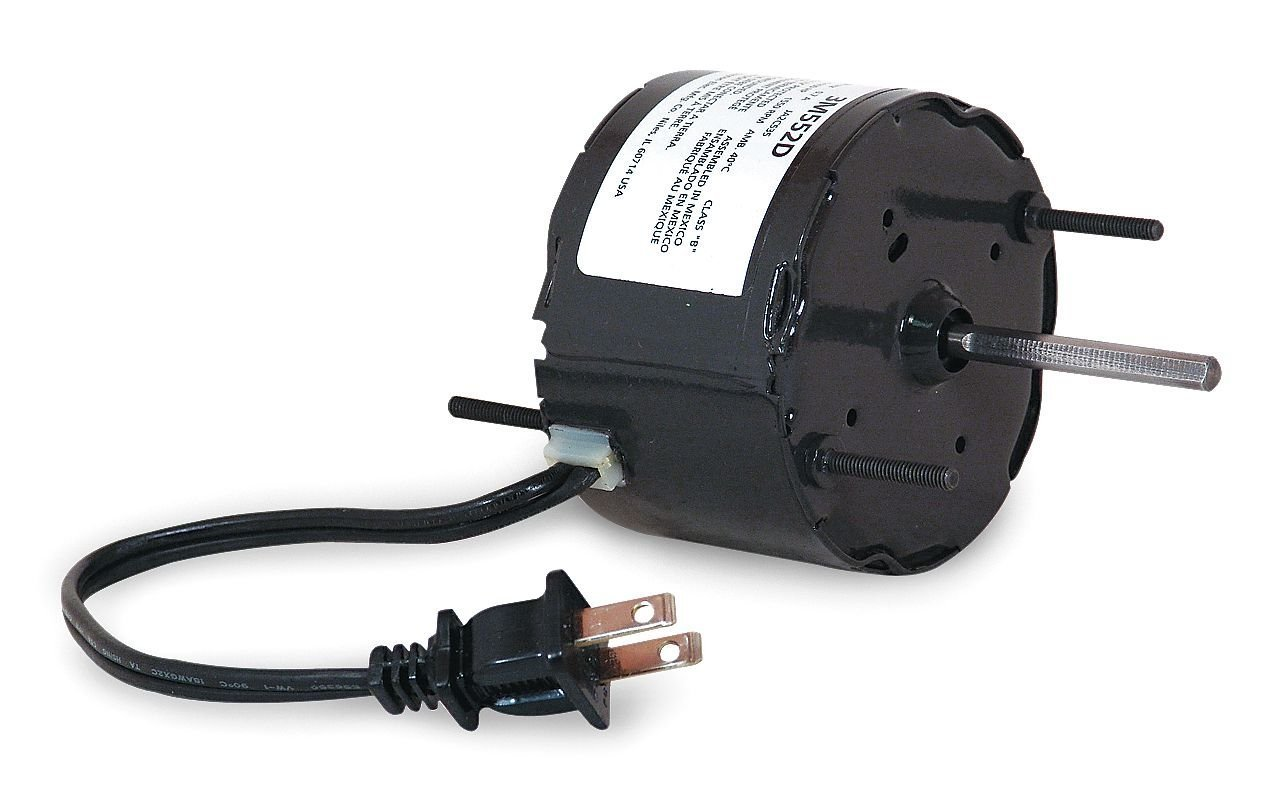 Dayton 3M552 HVAC Motor, 1/100 hp, 1550 RPM, 115V