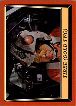 #94 Tiree Gold Two 2016 Topps Star Wars Rogue One Mission Briefing