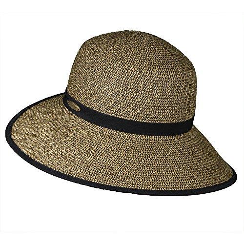 cappelli-womens-paper-braid-face-saver-sun-visor-hat-coffee