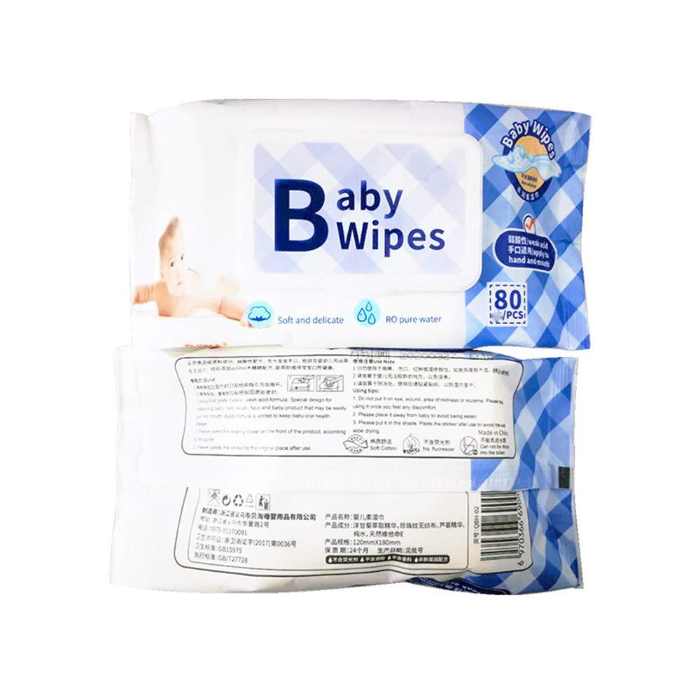 Toallitas Húmedas para Bebés, Hipoalergénicas, 5 Paquetes En Total, Total De 400 Cuentas: Amazon.es: Hogar