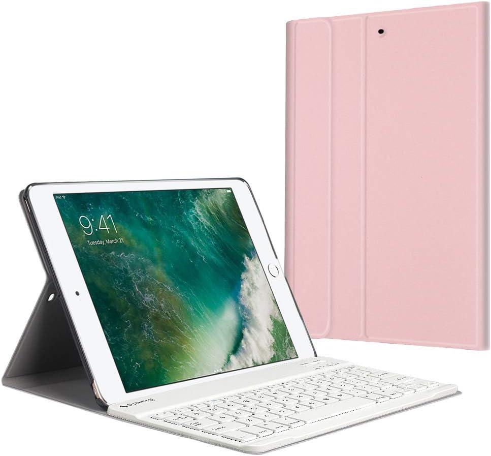 Funda con Teclado iPad 9.7 2018 /2017 /iPad Air 2iPad Air-6T