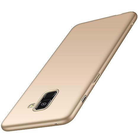 Arkour Funda Galaxy A8 2018, Minimalista Ultra Delgado Ligera Carcasa con Liso Superficie Mate Estuche Plastico Rígido Cover Case para Samsung Galaxy ...