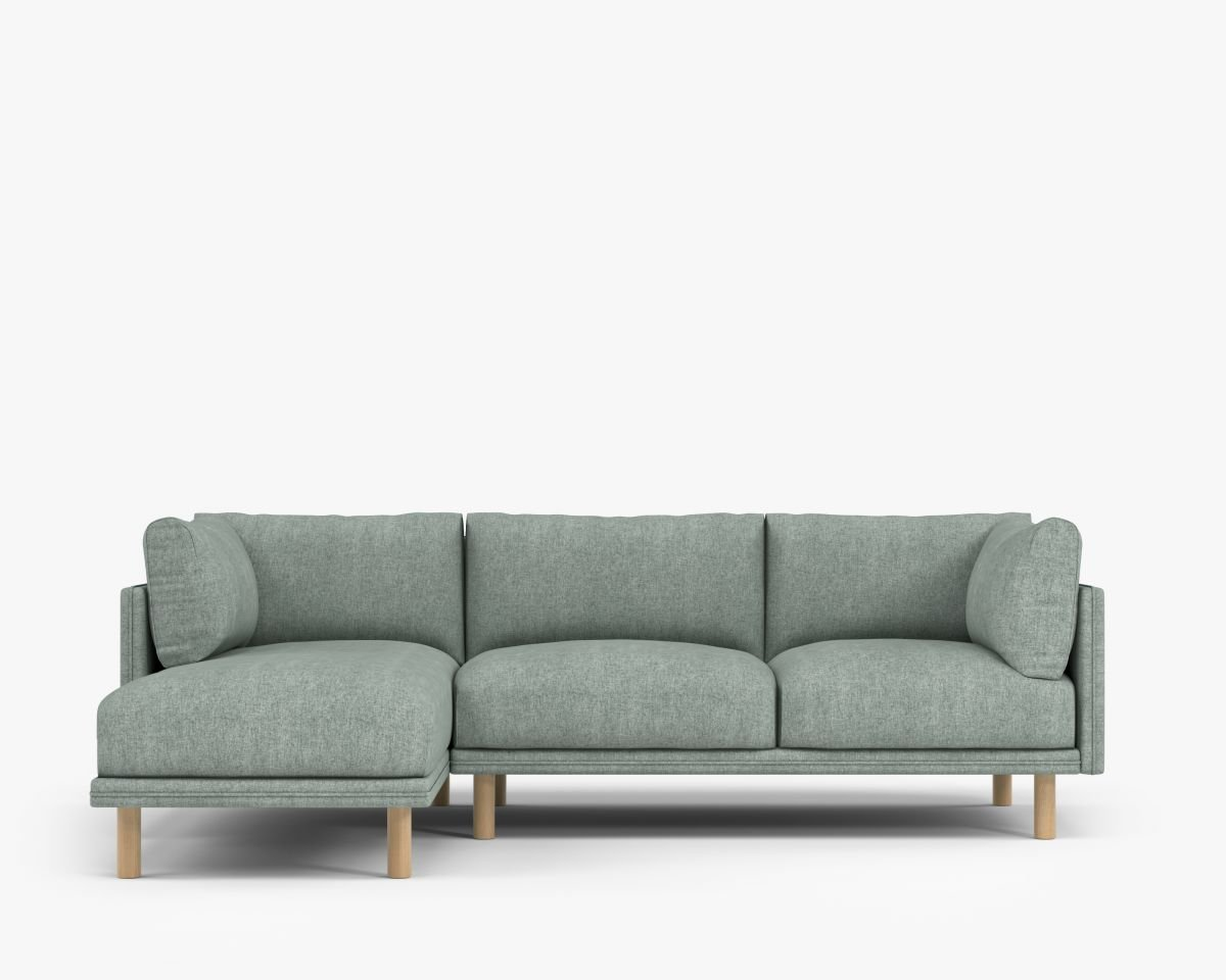 Groovy Kure Sectional Sofa Anderson Lhf Bergen Short Links Chair Design For Home Short Linksinfo
