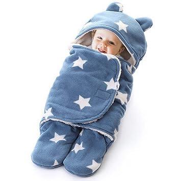 5a97371b4 Amazon.com  papasgix Newborn Baby Swaddle Blanket Newborn Cute ...
