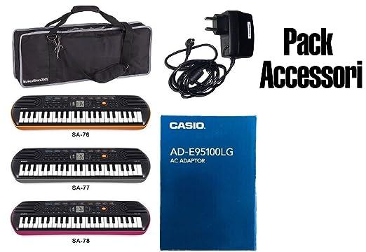 2 opinioni per Accessori Pack Alimentatore / Custodia KeyBag / MiniBag Casio per Tastiere /