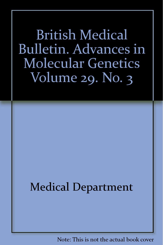 Molecular Genetic Medicine. Volume 3