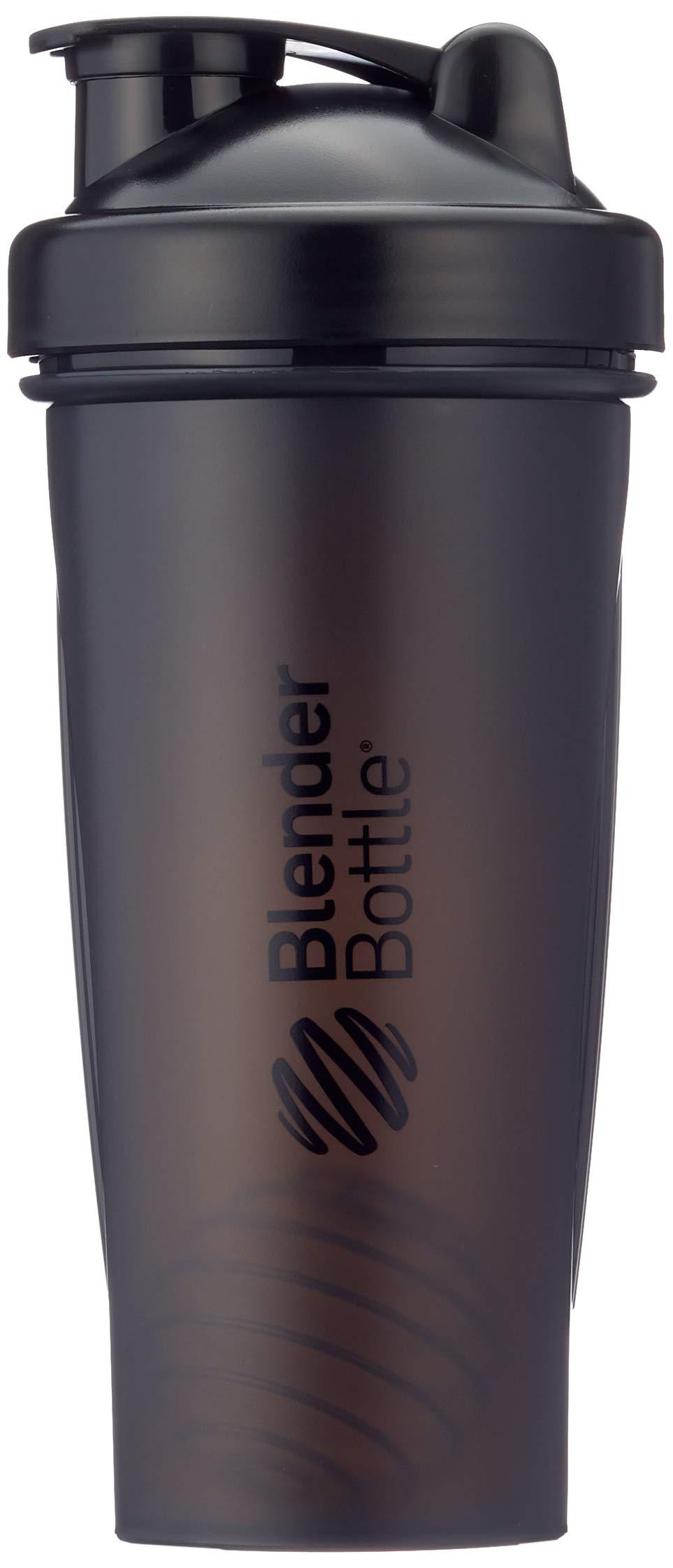 BlenderBottle Classic Shaker | Eiweiß Shaker | Diät Shaker | Protein Shaker mit Blenderball 820ml - Schwarz product image