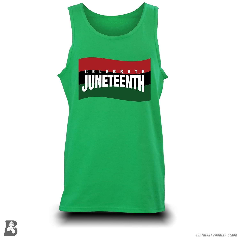 Tank Tops Sweatshirts Hoodies Kitchen Aprons Pushing Black Celeberate Juneteenth Garvey Flag T-Shirts and More