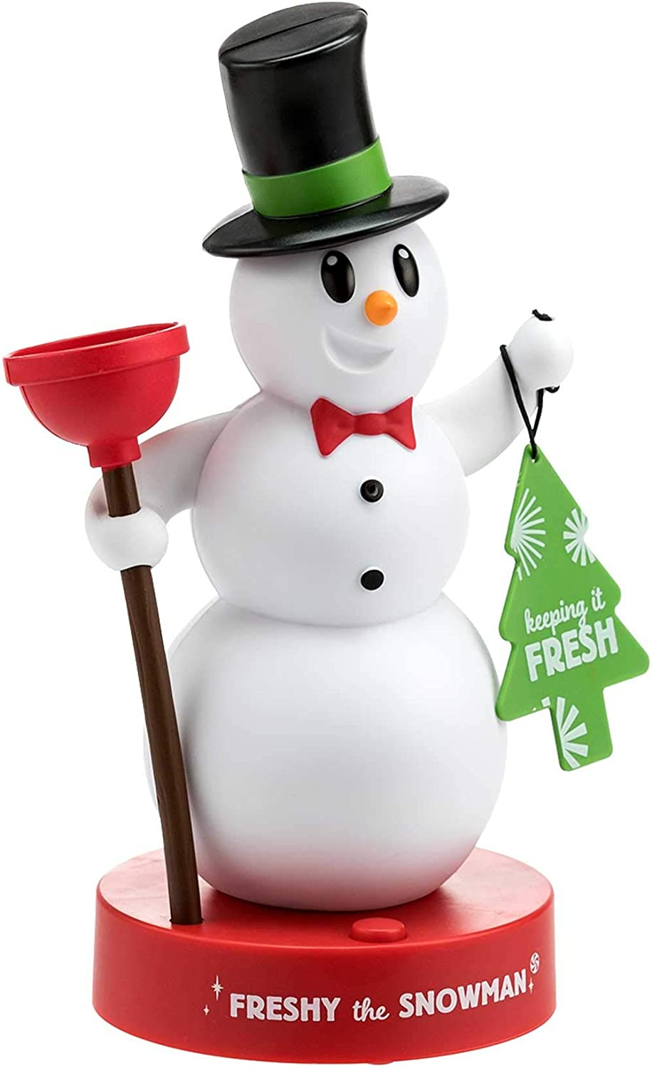 Hallmark Freshy The Snowman, Motion Activated Figurine, Talks When You Enter The Bathroom