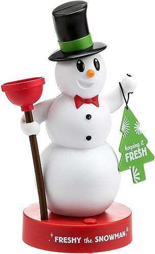 Hallmark Freshy The Snowman, Motion Activated Figurine, Talks When You Enter The Bathroom
