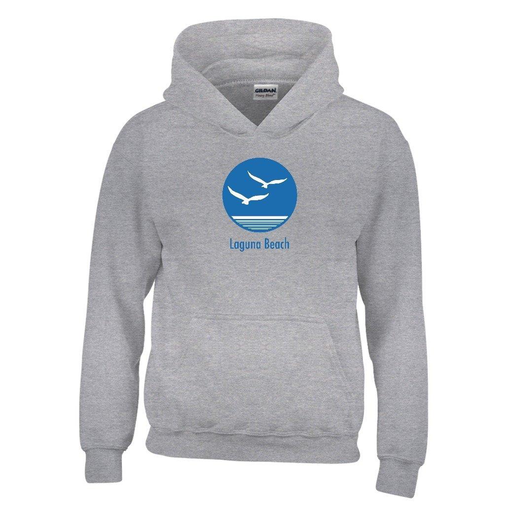 Kids Sweatshirt Laguna Beach California Seagull Youth Hoodie
