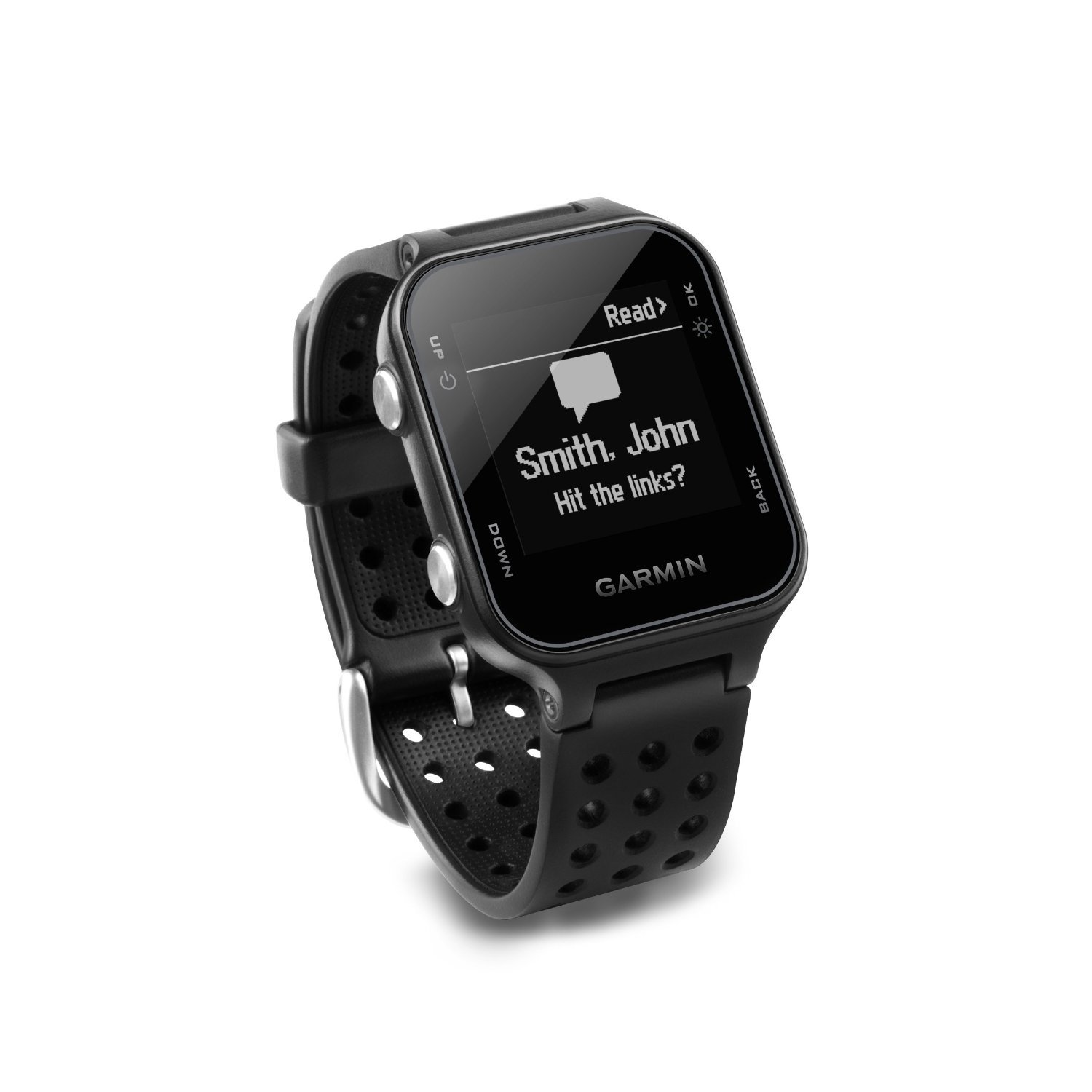 Garmin Approach S20 (Black) Golf GPS Watch with PlayBetter USB Car Charge Adapter   Activity Tracker, Smart Notifications & 40,000+ Worldwide Courses by PlayBetter (Image #5)