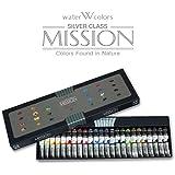 [Mwc-7524] Mijello Mission Silver Class 7.5ml Tube X 24colors Watercolor Paints