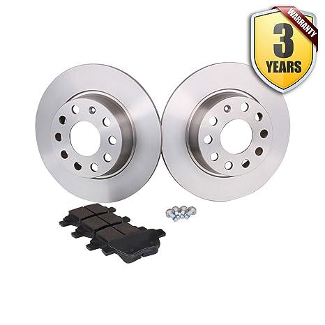 Seat Leon Kit de almohadillas y discos de freno trasero (RR discos 272 mm)