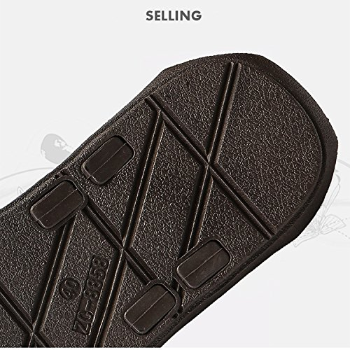 Black858 Trend Drag Slippers Flip Explosive Men's Mode XING 44 Flops Sandales Sauvages GUANG Home qT7UWPS