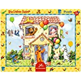 Rahmenpuzzle Die L.Sieben - In der Villa Siebenklein (24 T.)
