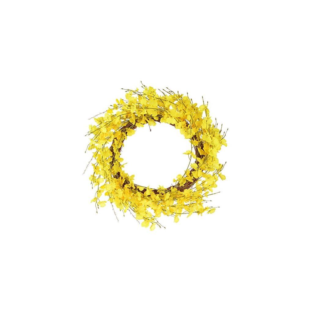 Lvydec-Artificial-Orchid-Flower-Wreath-18-Yellow-Oncidium-Flower-Door-Wreath-Fake-Flower-Summer-Wreath-for-Front-Door-Wedding-Home-Decor