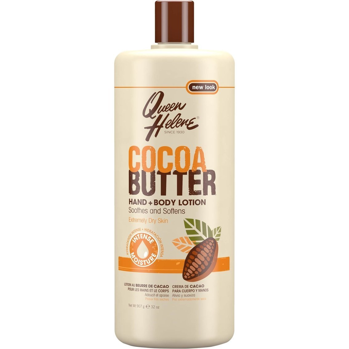 QUEEN HELENE Cocoa Butter Hand and Body Lotion 32 oz (Pack of 4) by Queen Helene
