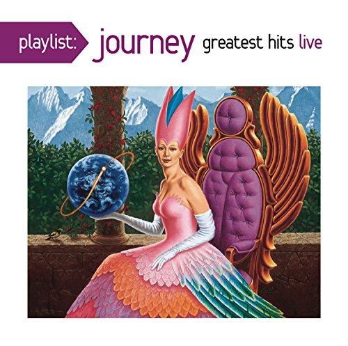 CD : Journey - Playlist: Journey Greatest Hits Live (CD)