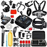 SmilePowo Sports Action Camera Accessory Kit for GoPro Hero6,5 Black,...