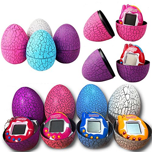 Digital-Virtual-Reality-Pet, Tamagotchi Electronic Pets Toys Dinosaur Egg for Kids (1x pcs Random Color)