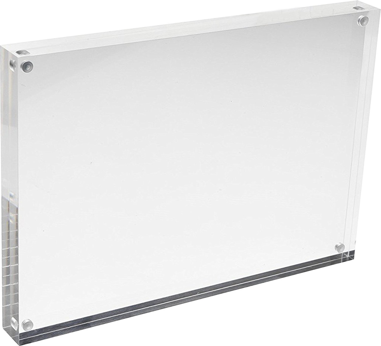 Cq acrylic 8x10 Acrylic Frame, Magnetic Picture Frames, Clear, 10 + ...