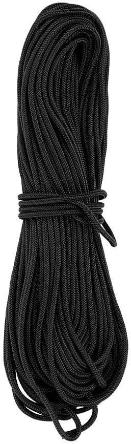 Fendysey Cuerda de Nylon Negro Saf, Cuerda de Nylon Trenzada ...