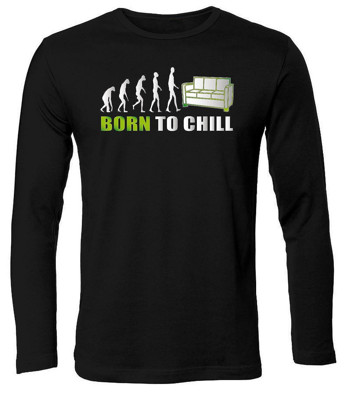 Bekleidung Born To Chill 2578 Faul Herren Longsleeve Langarm