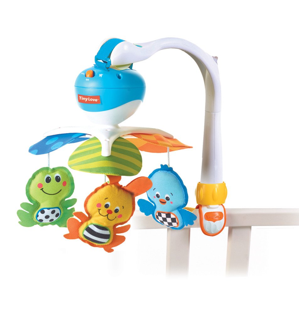 Mobile for baby crib - Amazon Com Tiny Love Take Along Mobile Animal Friends Blue Baby Stroller Toys Baby