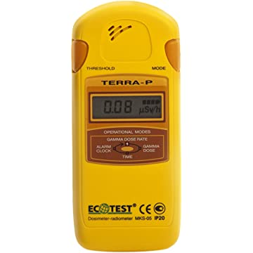 Amazon.com: Terra-P +, Dosimeter-radiometer MKS-05 for ...