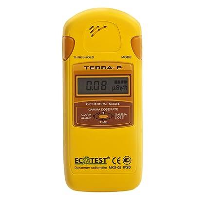 ECOTEST Terra-P - Medidor Geiger de radioactividad