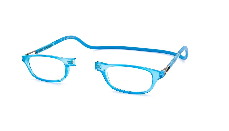 2ad4ef3cbf New Slastik Magnetic Clic Style Reading Glasses Frames Leia GA014 Strength  +1.00 with soft case  Amazon.co.uk  Health   Personal Care