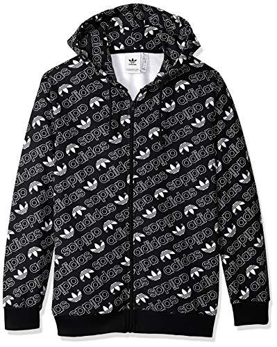 zip Black Full Originals Adidas Hoodie Monogram Xl Men's wIOZR4x1q6
