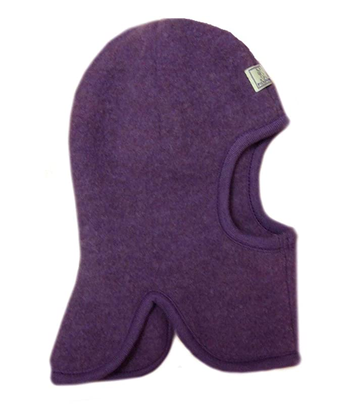 21b0db2655f Amazon.com  Pickapooh Hat 100% Merino Wool Balaclava Baby Boy Girl Children  Fleece Winter Sturmhaube  Clothing