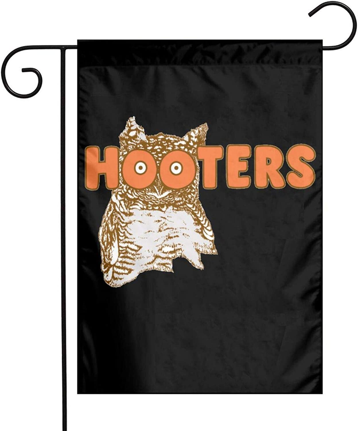 Dawiine Hooterspatriotic Garden Sign Flag Welcome Garden Sign Outdoor Courtyard Lawn Double-Sided Flag