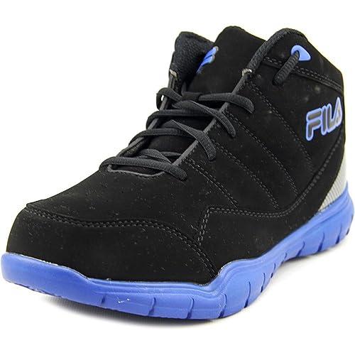 Fila Jump Flex Jovenes US 7 Negro Zapato de Baloncesto: Amazon.es ...