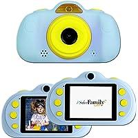 SaveFamilyCam. Cámara de Fotos para Niños. Cámara de vídeo Infantil. Cámara Digital SaveFamily Infantil. Gratis Tarjeta…