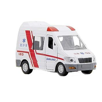 Tire Coche Modelo esJuguete Niños Ambulancia Para De Amazon VULMjpqzGS