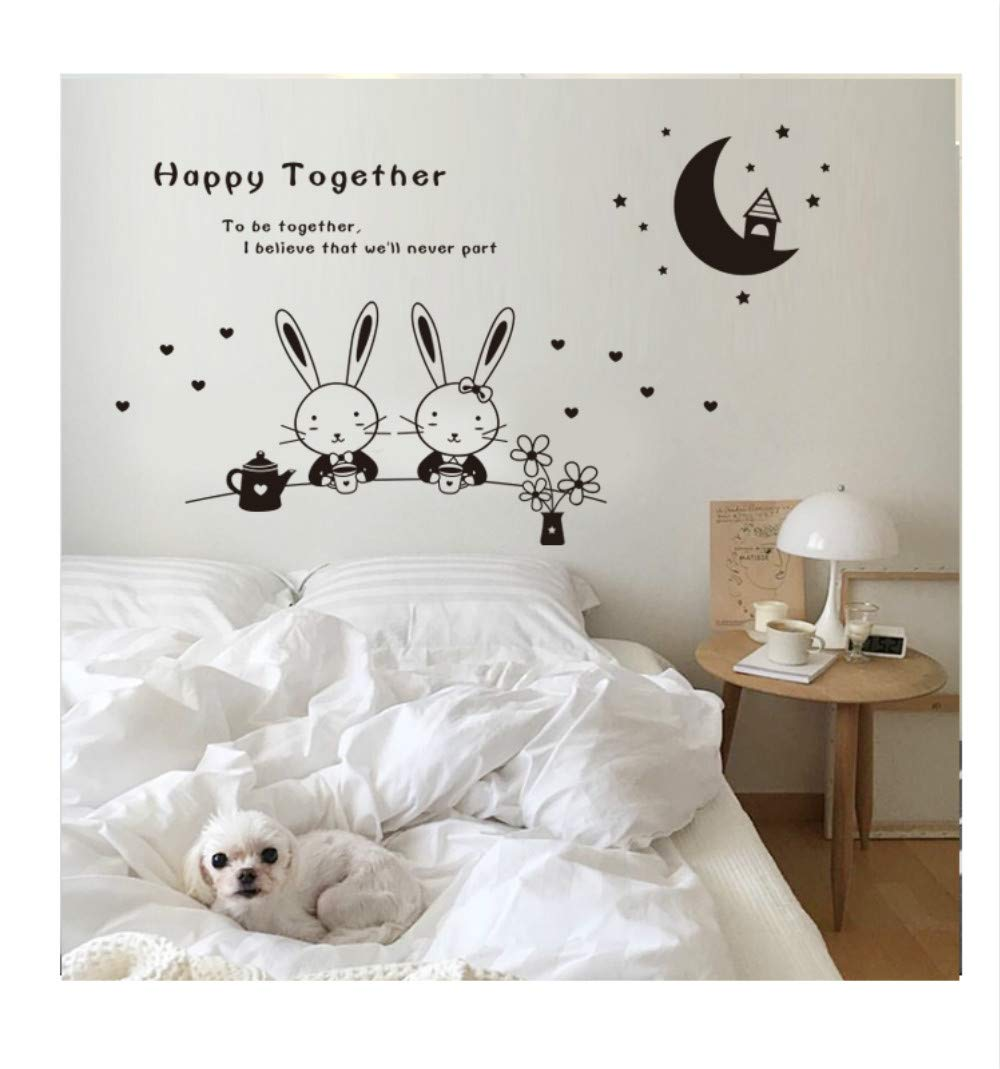 Hesuimaoyi Wallpaper Stickers Baby Childrens Room Wall Stickers Decoration waterprof Mural Household Art Stickers