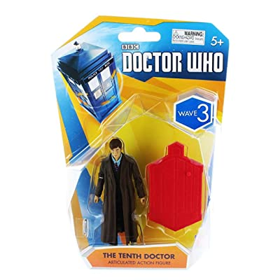 Doctor Who, Wave 3 Articulated Action Figure, The Tenth Doctor, 3.75 Inches: Toys & Games