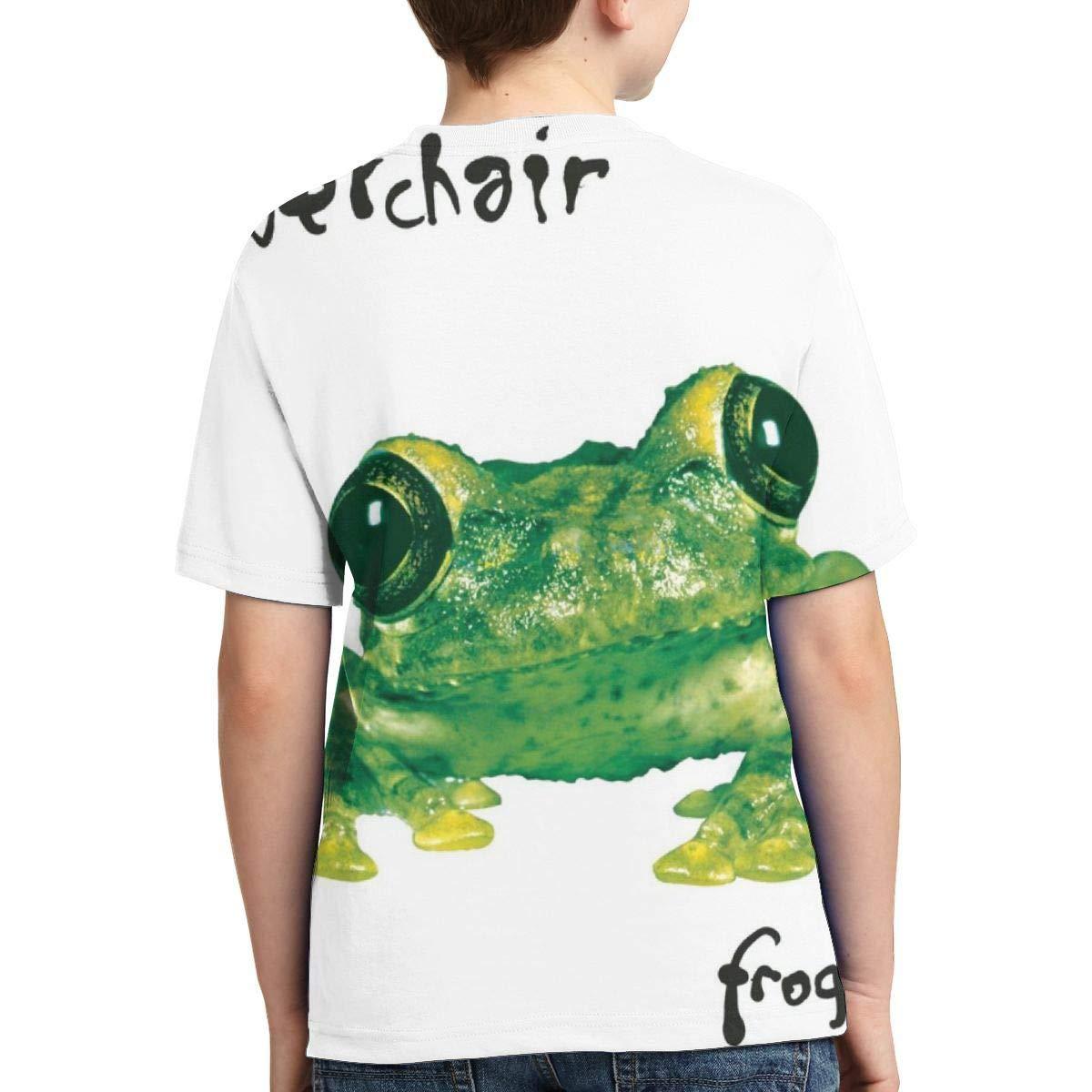 BowersJ Childs Silverchair Frogstomp Design 3D Printed Short Sleeve Tee for Girls /& Boys Black